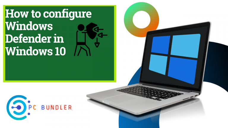 configure windows defender in windows 10