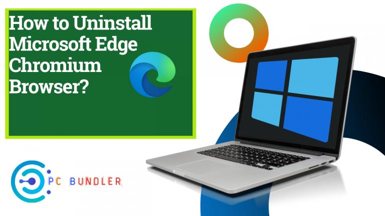 How to uninstall microsoft edge chromium browser