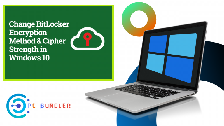 Change BitLocker Encryption Method