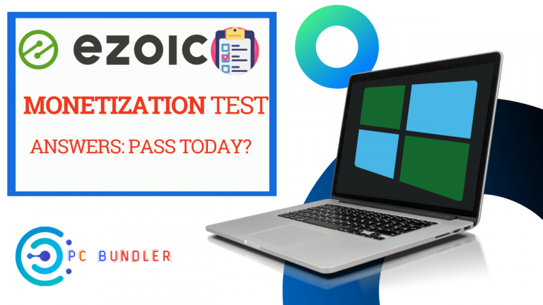 Ezoic Monetization Test Question And Answers